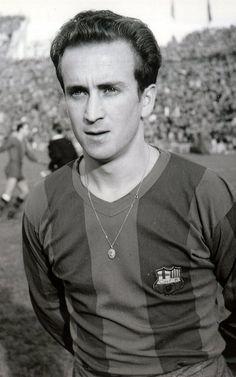 Estanislau Basora (18 November 1926 – 16 March 2012), Spanish winger or striker, FC Barcelona (1946-1958)