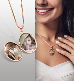 Check out these new locket styles to keep the ones you love close to your heart. #QualityGold #Lockets #HeartLocket #TopSelling #Jewelry #GoldLocket