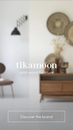 For 10 years, Tikamoon has been designing durable characterful furniture. Discover the world of Tikamoon. Furniture Ads, Solid Wood Furniture, Quality Furniture, Furniture Design, Flat Interior, Interior Design Living Room, Small Bedroom Designs, Living Room Sofa, Home Projects