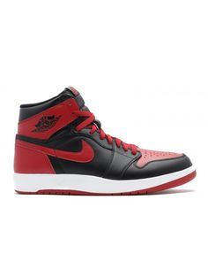 huge selection of aad82 29028 Air Jordan 1 High The Return Bred Black Black Gym Red White 768861 001