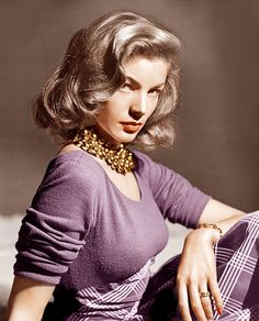"""I am not a has-been. I am a will be.""      Lauren Bacall (1924-2014)"