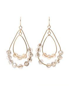 Kenneth Cole Crystal Earrings