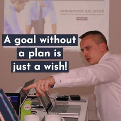 Don't wish for it. Hustle hard and get results! Develop a proper plan and exact strategy on how to achieve your goal. Work everyday on your goal! Risky Business, Business Travel, Small Business Saturday, Keynote Speakers, Promote Your Business, Online Business, Wish, Coaching, Success