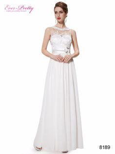 c284500f0b98 Party Prom Dress Ever Pretty 2017 Hot Sale New Arrival Sleeveless White  Print Long Cheap Sexy Elegant Women Dresses