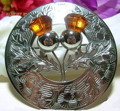 Vintage Celtic Brooch Pin Signed by BrightgemsTreasures on Etsy, $24.50