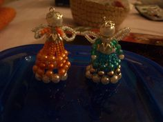 Angels from beads