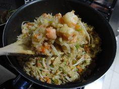 Arroz frito especial. Aquí la receta: www.recomelona.wordpress.com