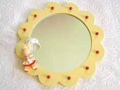 Sweet Vintage Irmi Nursery Mirror