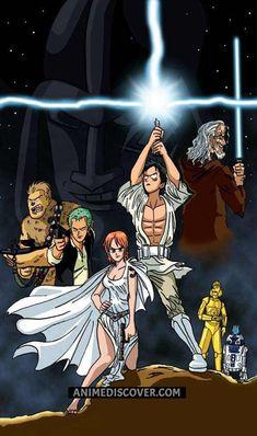 One Piece x Star Wars :D