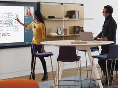Creative Spaces, Steelcase + Microsoft