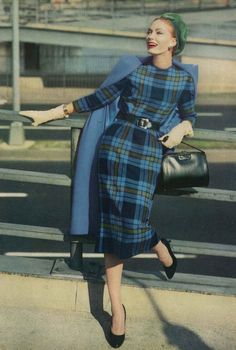 September Vogue 1957, photo by Frances McLaughlin-Gill