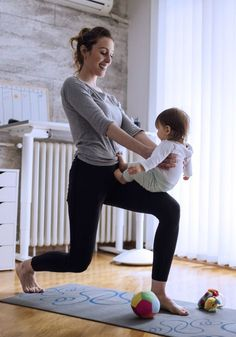 Gemeinsam trainieren: Mit diesen Workout-Ideen wird euer Baby nicht zur Ausrede!