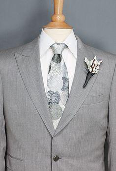 Brides: Wedding Color Scheme: Mint and Platinum :