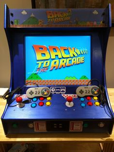 Back to the Future themed bartop arcade