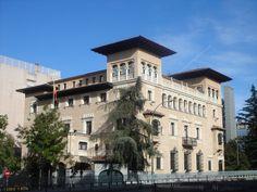 Palacetes de Osma y del marqués de Bermejillo.