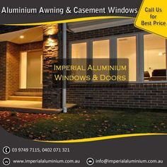 Imperial Aluminium Awning window & Casement Window