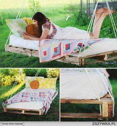 Garden swing bed!!!!