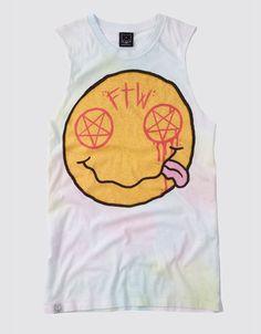 Nevermind Sleeveless T-Shirt, Drop Dead Clothing