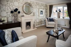 Morris Show Home Living Room