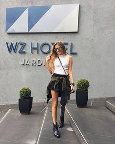 WEBSTA @ paola_antonini - Bom dia bom dia São Paulo! 🙏🏼☁️Nesse hotel lindo @wzhoteljardins! Obrigada pela recepção maravilhosa!--Morning São Paulo 💛