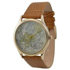 me gusta. / Vintage Map Watch