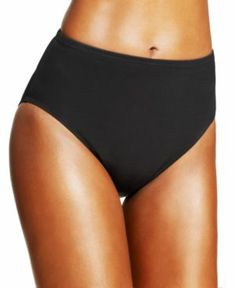 Look 10 lbs. lighter in 10 seconds with Miraclesuit swimwear. Designed to shape and firm the body without a bulky lining or a vise-like girdle, now you can swim sleek, chic. and in comfort! , Style Number: 472001 Extra-firm control swim bottom, flattens tummy, Innovative Miratex fabric offers triple holding power, Modest, 7 inch rise, Stretch microfiber and Lycra spandex AllDD Bras,  Average Figure, DDplus, Full Figure, Lycra, Nylon, Spandex, NotMa…#spandex #coupons #swimwear