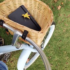 autumn leaves and bike rides