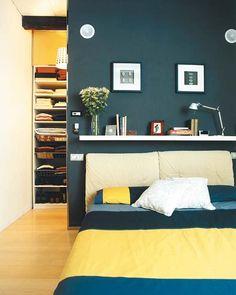 Dormitorios con vestidor: distribución