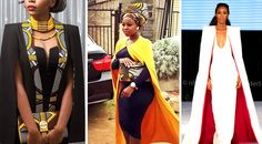 From Cape Dress To Cloak Dress; A Fashion That Will Rock African Fashion Lovers In 2016 | FashionGHANA.com: 100% African Fashion