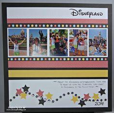 Cruise Scrapbook, Disney Scrapbook Pages, Scrapbook Page Layouts, Travel Scrapbook, Scrapbook Paper Crafts, Scrapbooking Ideas, Scrapbook Cards, Digital Scrapbooking, Disney 2015