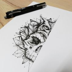 Tattoo drawings, drawings of skulls, tattoo sketches, tatoo art, art draw. Tattoo Sketches, Tattoo Drawings, Skull Drawings, Animal Skull Drawing, Skull Tattoos, Body Art Tattoos, Tattoo Caveira, Art Minimaliste, Future Tattoos