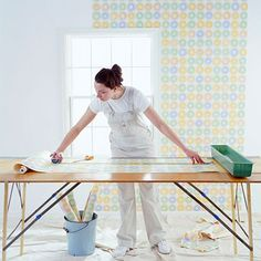 How to Wallpaper Like a Pro  Measure, cut, paste, repeat. Wallpapering is easy with our step-by-step guide. Pick a paper and get started.