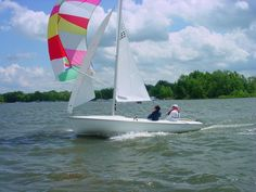 There's lot of sailing at Clinton Lake in central IL