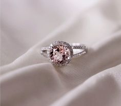 1.1ct Diamonds Ring/ Engagement Ring 14k White Gold by AdamJewelry, $484.00 omg!! i LOVEEE!!!!