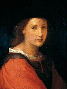 """""""Portrait of a Youth"""", attr. Andrea del Sarto, ca. 1530; YMT YORAG : 794"""