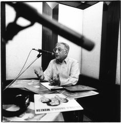 Ameen Sayani is the most imitated & popular radio announcer from India. He achieved fame and popularity all across South Asia when he presented his Binaca Geetmala program of hits over the airwaves of Radio Ceylon.