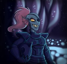 *Look at her! Isn't Undyne just the coolest?!