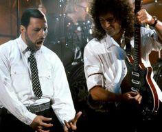 Freddy Mercury and Brian May