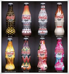 The many faces of Coca Cola Notes: do the same thing, maybe another brand, and do it with famous artists from famous time periods??