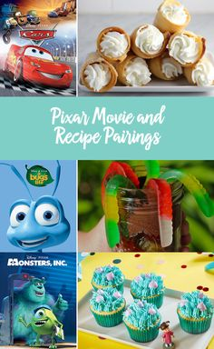 While we love a good Disney classic, Pixar movies are just as magical. From The Incredibles to Up, there are so many of these films to adore. We think a Pixar movie marathon with the little ones is in order. And no marathon is complete without themed snacks! Whether you prefer friendly monsters or superhero families, we've found different treats that will appeal to everyone's taste buds. Enjoy Monsters, Inc. with some cupcakes or Toy Story with some pizza. Click for Pixar recipe ideas!