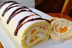 The perfect dough for biscuit rolls - does not break and is perfect for .- Der perfekte Teig für Biskuitrollen – bricht nicht und ist in 15 Minuten fertig The perfect dough for biscuit rolls – does not break and is ready in 15 minutes. Baking Recipes, Cake Recipes, Dessert Recipes, Czech Recipes, Ethnic Recipes, Dessert For Dinner, Biscuit Recipe, Food Cakes, Sweet Recipes