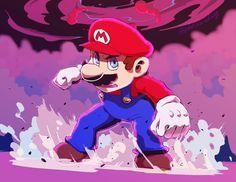 Mario Bros., Mario And Luigi, Video Game Characters, Fictional Characters, Pokemon, Super Mario Art, Super Smash Bros, Mushroom, Videogames