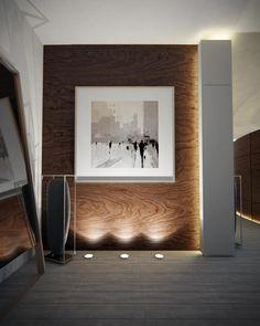 декоративка на лестнице Mimar Interiors