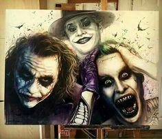 3 generations of The Joker