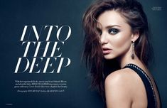 Miranda Kerr by Nino Muñoz for HauteMuse Magazine