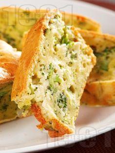 Рецепта за Солен кекс с броколи и карфиол - начин на приготвяне, калории, хранителни факти, подобни рецепти