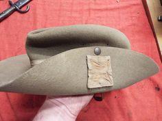 WW2 BRITISH SLOUCH HAT, British 6th Division 1942.