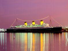 The Queen Mary in Long Beach, California
