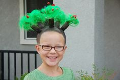 Sam for crazy hair day