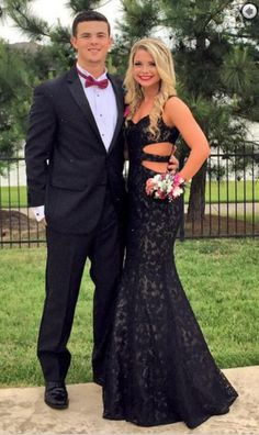 Prom Dresses Sexy Strapless Black Lace Mermaid Long